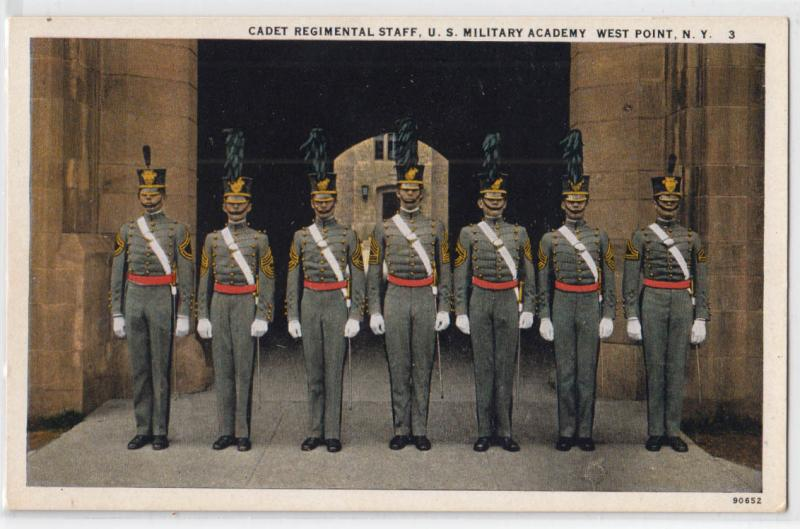 Cadet Regiment Staff, West Point NY