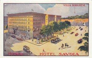 ROMA , Italy , 1900-10s ; Hotel Savoia