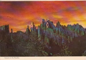 South Dakota The Black Hills Sunset On The Needles