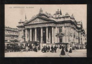 069611 BELGIUM Bruxelles La Bourse Stock exchange Old PC