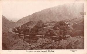 Pakistan Ropeway passing through Khyber