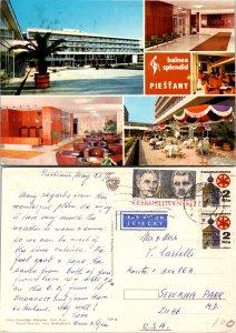 Balnea Splendid Piestany, Czechoslovakia Republic, Multi-Views (9329)