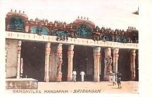 Srirangam India Rangavilas mandapam Srirangam Rangavilas mandapam