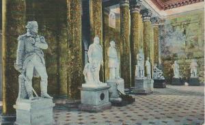Statuary Hall, The U.S. Capitol, Washington, D.C., Early Postcard, Unused