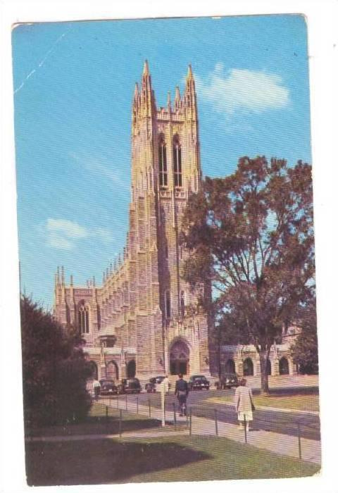 Duke University Chapel, Durham, North Carolina, PU-1954