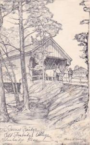 The Old Covered Bridge Dummerston Vermont 1972