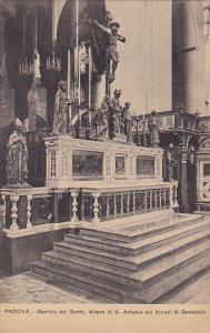 Italy Padova Basilica del Santo Altare di San Antonio