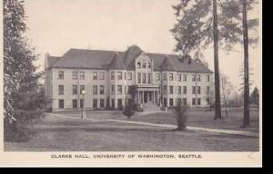 Washington Seattle Clarke Hall University Of Washington