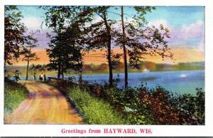 Wisconsin Greetings From Hayward