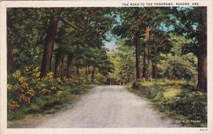 The Road To The Panorama Rogers Arkansas 1929