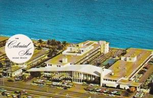 Florida Miami Beach The Colonial Inn Complete Resort Motel With Pool 1962