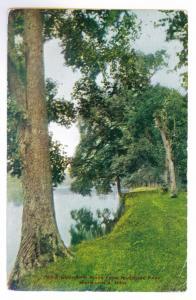 Minneapolis, Minnesota to New York City 1910 used Postcard, Riverside Park