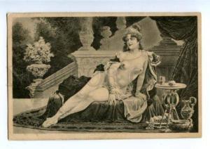 160998 NUDE Slave BELLY DANCER Harem BELLE vintage PC