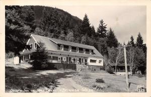 Brinnon Washington~Olympic Inn~Hood Canal~Fried Oyster Dinner For Us~1950 RPPC