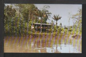 Lodge,Roche Diamant,Comte River,French Guiana Postcard