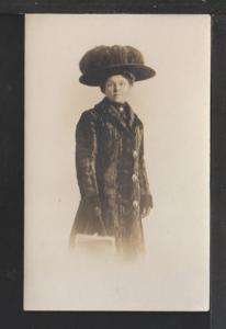 Woman Postcard
