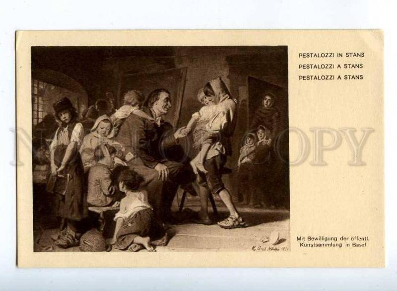 206946 PESTALOZZI & orphans Bad Schinznach by GROB old 1914