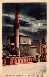 Serbia Belgrade La Mosque Djamija 1910