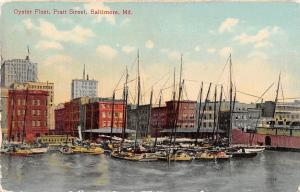 Md. Baltimore Prat Street Oyster Fleet Harbour Boats