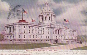 Minnesota Saint Paul State Capitol Building 1906