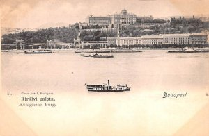 Kiralyi palota Budapest Republic of Hungary Unused