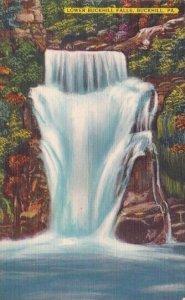 Lower Buckhill Falls Buckhill Pennsylvania
