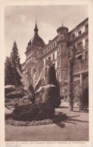 Switzerland Interlaken Partie du Jardin des Grands Hotel Victoria & Jungfrau