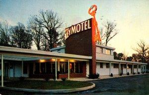 Virginia Alexandria The Key Motel 1954