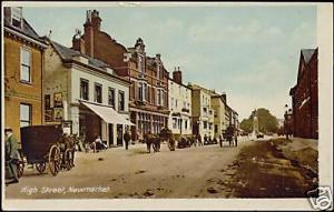 suffolk, NEWMARKET, High Street (1910s)