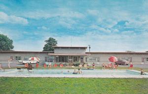 Sago Motel, Swimming Pool, Alberton, Ontario, Canada, 1940-1960s