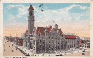 Michigan Detroit Post Office 1916