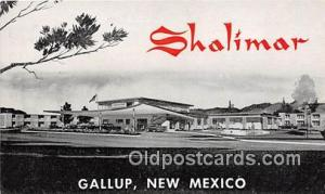 Route 66 Postcard Gallup, NM, USA Shalimar