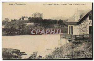 Old Postcard Saint Briac The small cottage and Necey