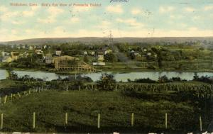 CT - Middletown.  View of Pameacha District