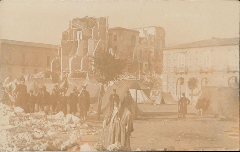 Messina terremoto earthquake Italy 1908