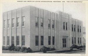MARIANNA , Arkansas , 00-10s ; Armory & American Legion Headquarters