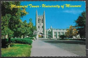 Missouri, Columbia, University of Missouri, mailed in 1986