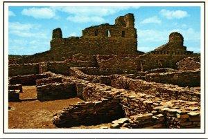 New Mexico Mountainair Abo State Monument Remnants Of San Gregprio de Abo Mis...