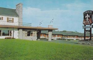 Motel Fleur De Lys, Boulevard Laurier , Quebec , Canada , 40-60s