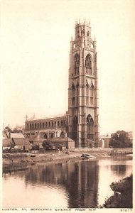 St Botolph's Church from NW Boston United Kingdom, Great Britain, England Unu...