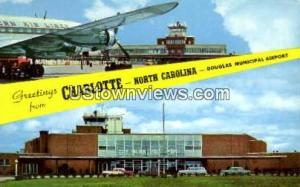 Douglas Municipal Airport Charlotte NC Unused