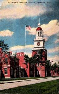 Michigan Dearborn Edison Institute Museum 1943