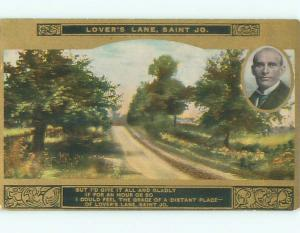 Divided-Back GREAT SCENE Greeting Postcard AA7102