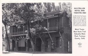 RP: Old Fallon Hotel & Theatre, Tuolume County , California , 1956 ; FRASHERS