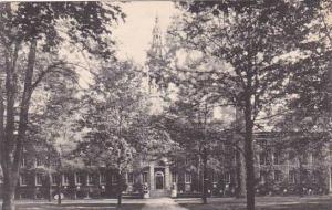 New Jersey Princeton Nassau Hall Princeton University Albertype