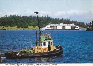 Queen of Coquitlam Ferry, British Columbia Ferries, Vancouver Island, British...