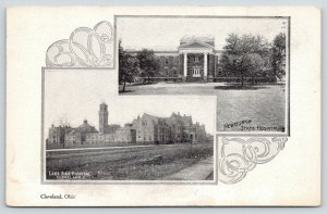 Cleveland~Newburgh State Hospital~ Northern Ohio Lunatic Insane Asylum~1905