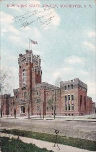 New York Rochester New york State Armory 1908
