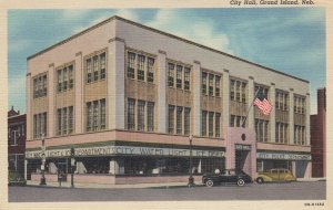 GRAND ISLAND , Nebraska , 1930-40s ; City Hall