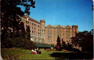 Hotel Thayer west Point NY Hudson River US Military academy Vtg Postcard